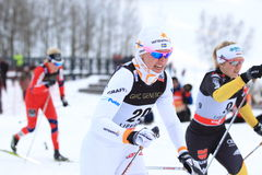 Magdalena Pajala - ski sprint skier Stock Photo