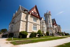 Magdalena Palace in Santander, Cantabrië stock foto's