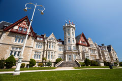 Magdalena Palace in Santander, Cantabrië royalty-vrije stock foto