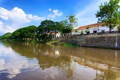 Magdalena River dans Mompox, Colombie Images libres de droits