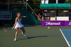 Magdalena Rybarikova Forehand Lunge Royalty Free Stock Image