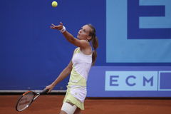 Magdalena Rybarikova in WTA Prague open Stock Image