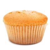 Magdalena, typical spanish plain muffin. Closeup of a magdalena, typical spanish plain muffin, on a white background Stock Photo