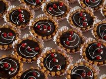 Magdalenas deliciosas de la vainilla Abastecimiento de la comida Imagen de archivo