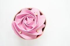 Magdalenas en colores pastel dulces Foto de archivo
