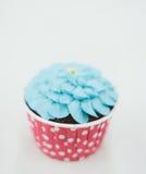 Magdalenas en colores pastel dulces Fotos de archivo