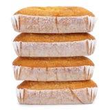 Magdalenas-largas, typische spanische einfache Muffins Stockfotos