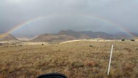 Magdalenas  Rainbow. New Mexico Fall Royalty Free Stock Photography