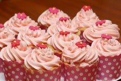 Magdalenas rosadas Fotos de archivo libres de regalías