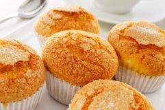 Magdalenas, typische Spaanse duidelijke muffins Stock Foto's