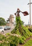 Magdalene Sculpture em Grant Park de Chicago fotos de stock royalty free