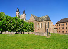 Magdeburg abbey Stock Image