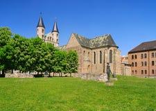 Magdeburg-Abtei stockbild