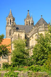 Magdeburg cathedral Royalty Free Stock Images