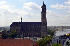 Magdeburg Cathedral, Germany Stock Photography