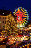 Magdeburg christmas market Stock Photo
