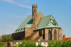 Magdeburg Wallonerchurch Imagens de Stock