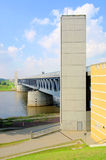 Magdeburg Water Bridge Royalty Free Stock Image