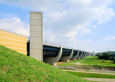 Magdeburg Water Bridge royalty free stock photo