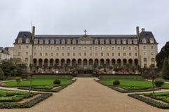 Magdelaine de la Fayette, Palais Helgon-Georges, Rennes, Frankrike arkivbilder