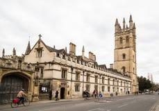 Magdelan College, Oxford. Royalty Free Stock Image
