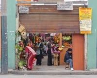 Magdelena market, lima, peru Royalty Free Stock Images
