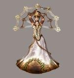 Mage royalty free illustration