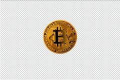 Mage av bitcoin, digitalt e-pengar begrepp av cryptocurrencyen royaltyfri bild