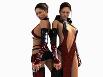 Mage sisters Royalty Free Stock Image