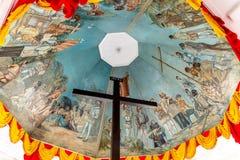 Magellan krzyż w Cebu mieście fotografia royalty free