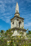 Magellan monument at Philippines islands. Magellan monument in the green park. Historical attraction of Mactan island Stock Image