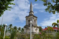 Magellan relikskrin Cebu Arkivbilder