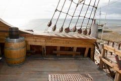 Magellan Replica Ship - Punta Arenas - Chile Royalty Free Stock Photography