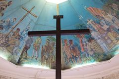 Magellan's Cross in Cebu, Philippines Stock Photos