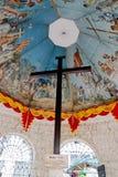 Magellan` s Kruis, de Stad van Cebu, Filippijnen stock afbeeldingen