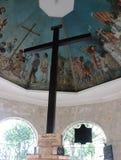 Magellan ` s krzyż w Cebu mieście, Filipiny fotografia royalty free