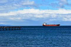 Magellan Straits Punta Arenas, Chile Stock Photos