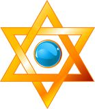 Magen David. Illustration of star of David (Magen David Stock Image