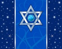 Magen David Holiday design. Star of David (Magen David) Holiday design Stock Photo