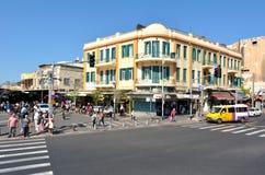 Magen David Square em Tel Aviv - Israel Fotografia de Stock Royalty Free