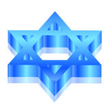 Magen David (star of David) Stock Photography