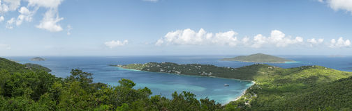 Magens bay beach in Saint Thomas Stock Photo