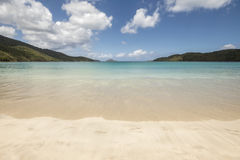 Magens bay beach in Saint Thomas Royalty Free Stock Image