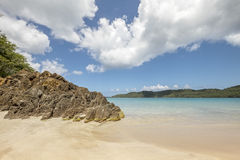 Magens bay beach in Saint Thomas Royalty Free Stock Photo