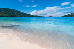 Magens Bay Beach on St Thomas USVI Stock Photography