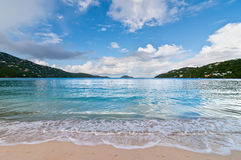 Magens Bay Beach on St Thomas USVI Royalty Free Stock Photography