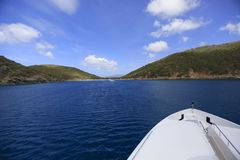 Magens Bay. A gorgeous view of Magen's Bay on the island of St. Thomas USVI Royalty Free Stock Photography