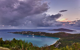 Magens Bay on St Thomas USVI Royalty Free Stock Photo