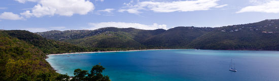 Magens Bay on St Thomas USVI Stock Image