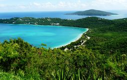 Magens bay st thomas vi Royalty Free Stock Images